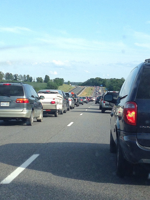 Traffic on the 400