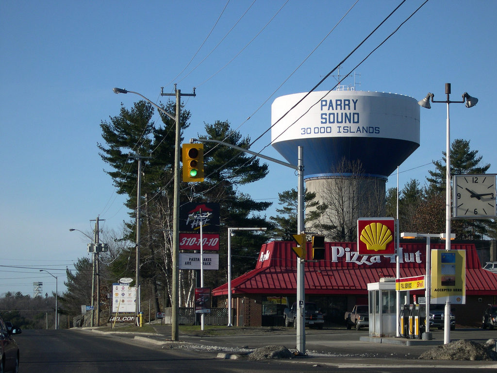 Parry Sound water tower