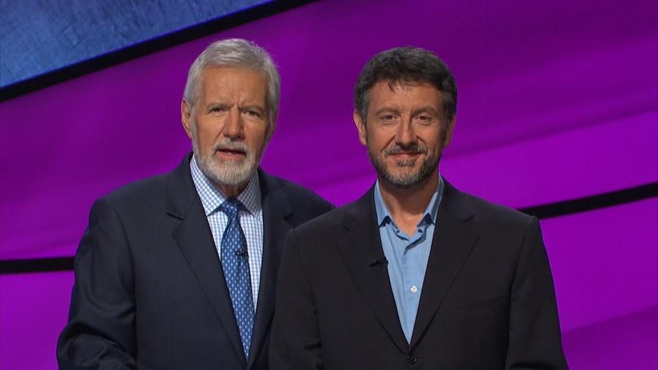 Alex Trebek on Jeopardy
