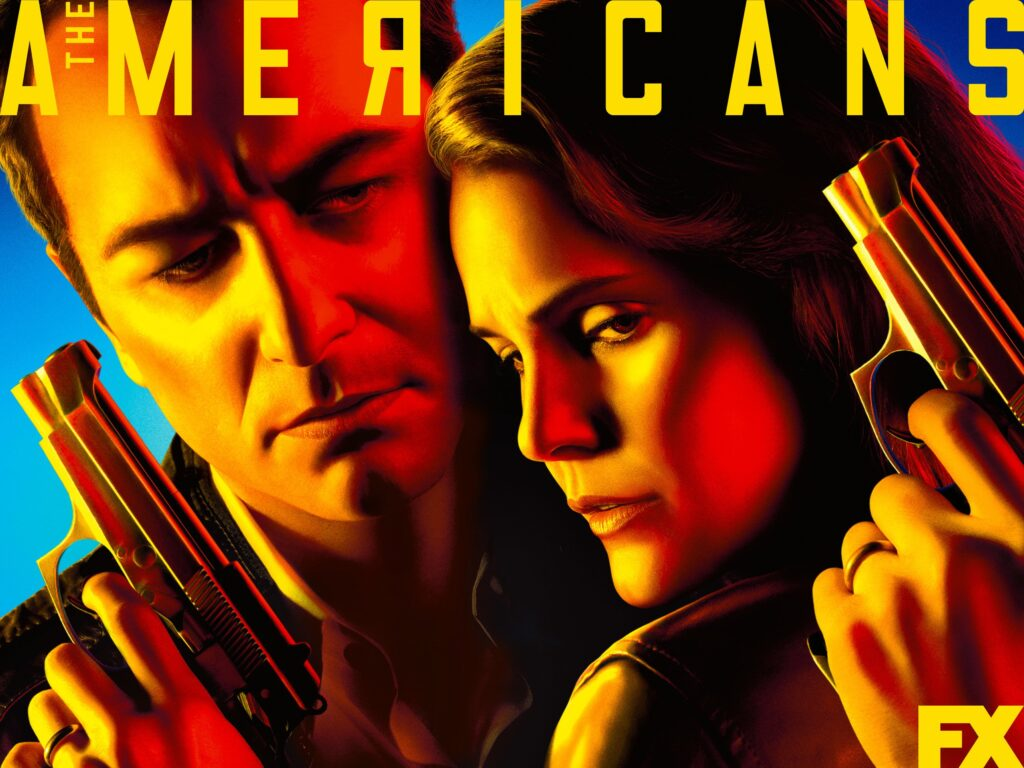 Poster for the t.v. Show The Americans